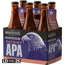 Monteith's Patriot APA 6 Pack Bottles 330ml