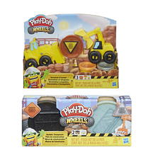 PLAY DOH EXCAVATOR AND LOADER + Extra Compound Assorted