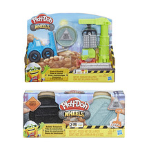PLAY DOH CRANE AND FORKLIFT + Extra Compound Assorted