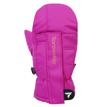 Torpedo7 Tots Frosty Mittens - Hot Pink