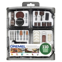 Dremel 110pcs Rotary Accessories Kit