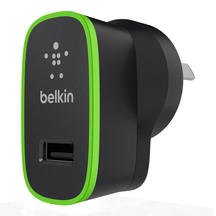 Belkin BOOSTUP 2.4Amp Wall Charger - Black