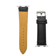 Smaak Urban Black Leather Strap for Watch 42mm