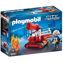 Playmobil Fire Water Cannon