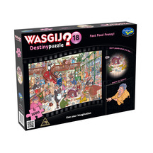Wasgij Destiny #18 1000pc Puzzle - Fast Food Frenzy