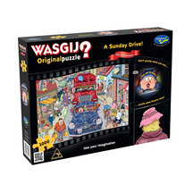 Wasgij 20th Anniversary 1000pc Puzzle - A Sunday Drive
