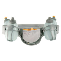 Nathan Speed 4R Grey Large 37-42 Hydration Belt  4x 8ozs ...