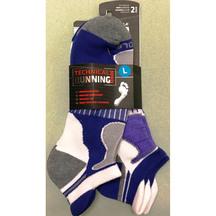 Sof Sole Tech Running Select Sock 2pr  M8-12.5 BLU/WHT  X...
