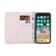 3SIXT NeoClutch Case for iPhone XS Max - Black/Dusty Pink