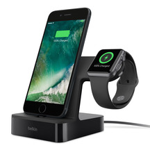 Belkin Powerhouse Apple Watch & Phone Dock - Black