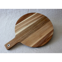 Seneca Large Round Wooden Chopping Board - 35cm