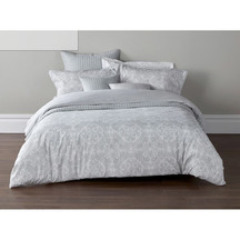 Christy Sumatra Silver Duvet Set