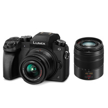 Panasonic Lumix DMC-G7WGN DSLM Twin Lens Camera Kit