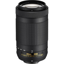 Nikon 70-300 F4.5-6.3 ED VR