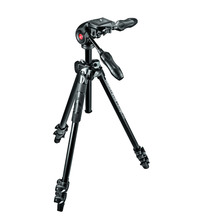 Manfrotto 290 Light Kit Alu with 3 Way Head Black