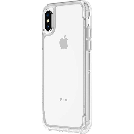 buy online 1eaae 7c967 Fly Buys: Griffin Survivor Strong Case for iPhone XR - Clear