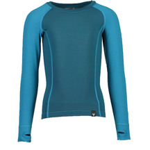 Torpedo7 Kid's Nano Core Thermal Long sleeve Top - Ocean/Sea