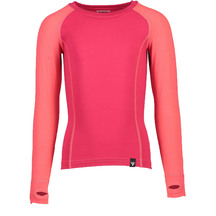 Torpedo7 Kid's Nano Core Thermal Long Sleeve Top - Rose/R...