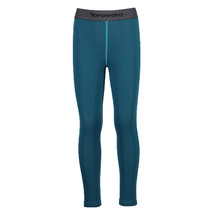 Torpedo7 Kid's Nano Core Thermal Tights - Ocean/Sea