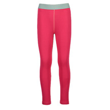 Torpedo7 Kid's Nano Core Thermal Tights - Rose/Raspberry