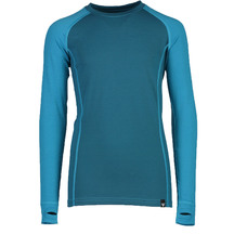 Torpedo7 Youth Nano Core Thermal Long Sleeve Top - Ocean/Sea