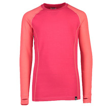 Torpedo7 Youth Nano Core Thermal Long Sleeve Top - Rose/R...