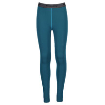 Torpedo7 Youth Nano Core Thermal Tights - Ocean/Sea