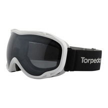 Torpedo7 Womens Comet Snow Goggle - White/Black