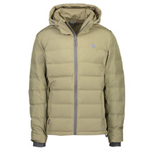 Torpedo7 Mens Arc V2 Down Jacket - Olive