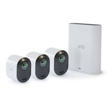 Arlo Ultra 4K HDR Wi-Fi Security System - 3 Camera Pack