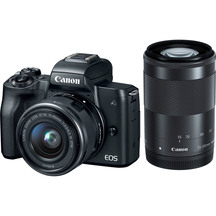Canon EOS M50 Mirrorless Camera Twin Lens Kit - Telephoto...