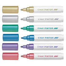 Pilot Pintor Marker Medium Pack of 6