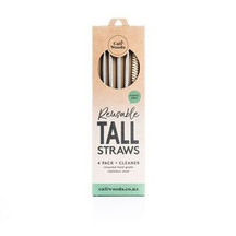 CaliWoods Reusable Tall Straws