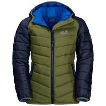 JW Youth Zenon Jkt - Cypress Green