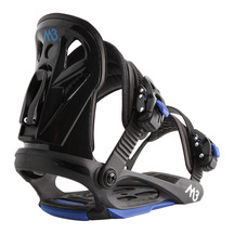 M3 Boys Helix Snowboard Bindings - Black