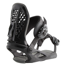 M3 Mens Pivot Snowboard Bindings - Black