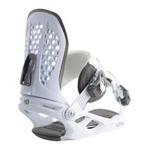 M3 Wmns Luna Snowboard Bindings - White