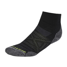 Smartwool Mens PhD Outdoor Light Mini Socks - Black
