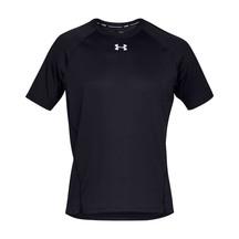 UA Mens Qualifier SS - Black/Black/Reflect