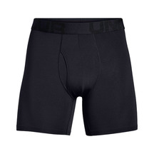 Under Armour Mens Tech Mesh Boxers 2 Pack - Black