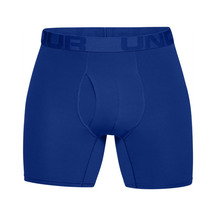 Under Armour Mens Tech Mesh 6inch 2Pack Boxer - Royal/Aca...