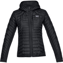 Under Armour Womens CGR Hybrid Jacket - Black/Black/Ghost...