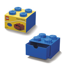 Lego Desk Draw - Small Blue