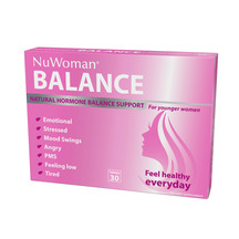 NuWoman BALANCE Natural Hormone Balance Support for Young...