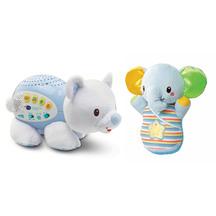 Vtech Snooze & Soothe Elephant and Polar Bear Bundle