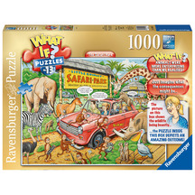 Ravensburger - What If No 13 Safari Park 1000pc Puzzle