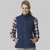Swanndri Women's Geraldine Hybrid Wool Down Vest