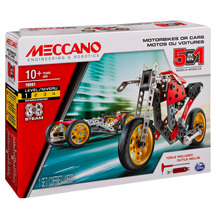 Meccano 5 Model Set - Street Fighter