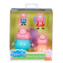 Peppa Pig - Family Pack of Figs