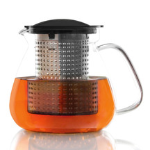 Finum Glass Teapot with Infuser Control - 1 Litre